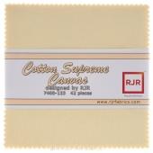 Cotton Supreme Solids Canvas Charm Pack