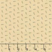 New Circa Essentials Shirtings - Dotted Flourish Navy Yardage