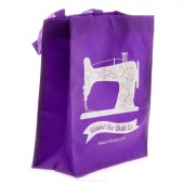 MSQC Small Shopping Tote Purple
