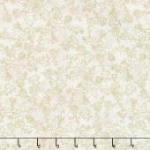 Magnolia - Eucalyptus Seed Cream Yardage