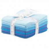 The Colors of Moda - Blues Fat Quarter Bundle