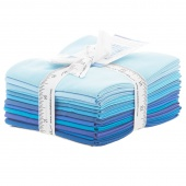 The Colors of Moda - Blues Fat Quarter Bundle