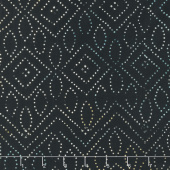 Tonga Batiks - Boathouse Dot Art Jet Yardage