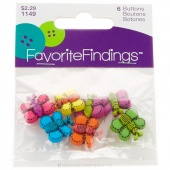 Favorite Findings Butterfly Dreams Buttons 5/8in