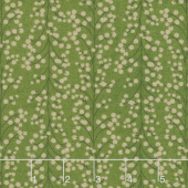 Winter Village - Holly Berries Spruce Yardage