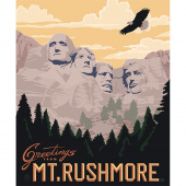 Destinations - Mt. Rushmore Multi Panel