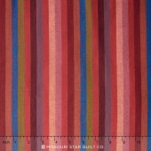 Kaffe Wovens - Narrow Stripe Red Yardage