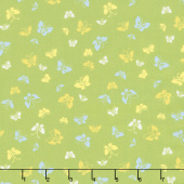 Lazy Days - Butterflies Pea Pod Yardage