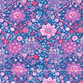 Soul Mate - Kaleidoscope Navy Yardage