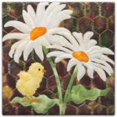 Daisy Daze Art Print Digitally Printed Panel