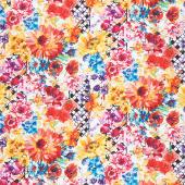 Hummingbird Lane - Floral Multi Yardage
