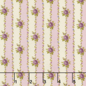 Hat Box - Bud Stripe Lavender Yardage