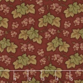 Sycamore - Leaf Cluster Berry Red Yardage
