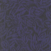 Miyako - Etched Leaves Purple Yardage