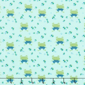 Ready Set Splash - Frogs Pistachio Yardage
