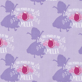 Sofia the First - Amulet Pastel Lavender Yardage