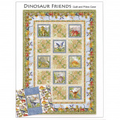 Dinosaur Friends Quilt and Pillowcase Pattern
