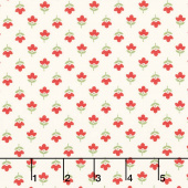At Home with Bonnie and Camille - Gather Cream Red Canvas Yardage