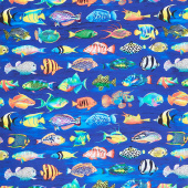 Coral Canyon - Fish Pacific Digitally Printed Yardage