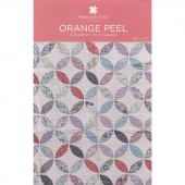 Orange Peel Quilt Pattern by MSQC