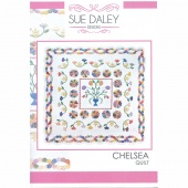 Sue Daley Chelsea Pattern with Templates and Papers