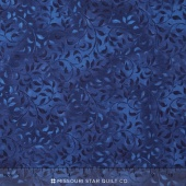 Wilmington Essentials - Sapphire Sky Climbing Vines True Navy Yardage