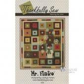 Mr. Flake Applique Quilt Pattern