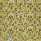 May Morris Studio - Celadine 1896 Sage Yardage