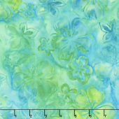 Artisan Batiks - Bright Blooms Flowers Pool Yardage