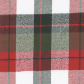 Mammoth Flannel - Plaid Red Yardage