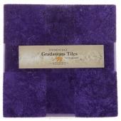 Stonehenge Gradations Brights - Amethyst Tiles