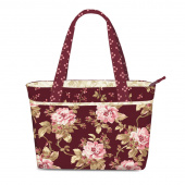Burgundy & Blush Riviera Handbag Kit