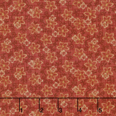 Berries and Blossoms - Flower Toss Rose Yardage