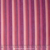 Kaffe Wovens - Multi Stripe Raspberry Yardage
