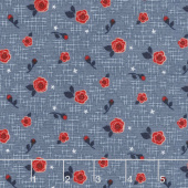 Hedge Rose - Hashtag Blue Yardage