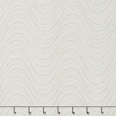 Essence of Pearl - Neutral Wind Wave Cream Yardage
