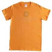 Missouri Star Small Rhinestone T-Shirt - Tangerine