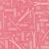 Crafters Gonna Craft - Tools Rose Yardage