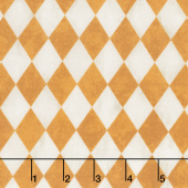 Raven's Claw - Harlequin Cream Orange Yardage