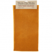 Weeks Dye Works Hand Over Dyed Wool Fat Quarter - Houndstooth Mustard