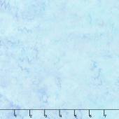 Malam Batiks V - Dahlia Sky Blue Yardage