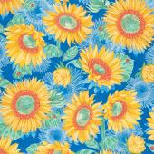Solana - Sunflowers Horizon Yardage