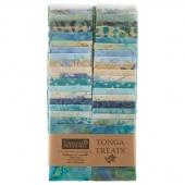 "Tonga Treats Batiks - Surf 2.5"" Strips"