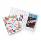 Missouri Star Quilting is My Happiness Pattern Keeper Binder