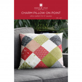 Charm Pillow on Point Quilt Pattern by Missouri Star