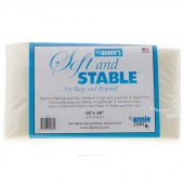 "Soft and Stable 18"" x 58"" White Polyester Foam"