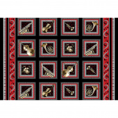 Musical Moments - Musical Boxes Black Panel