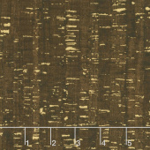 Uncorked - Espresso Metallic Yardage