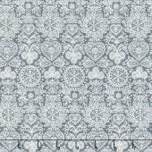 Scandi 4 - Lace Silver Yardage