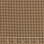 Campsite Critters Flannel - Plaid Nature Yardage